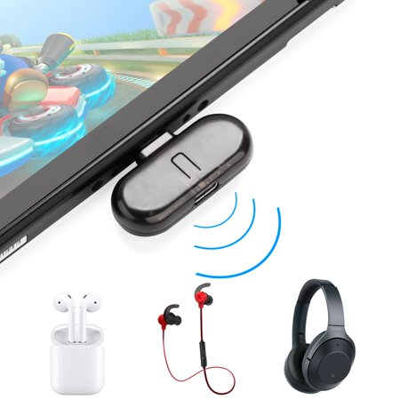 Receiver with Voice Transmission Route+ PRO Bluetooth Transmitter Wireless Audio USB Adaptor for Nintend Switch