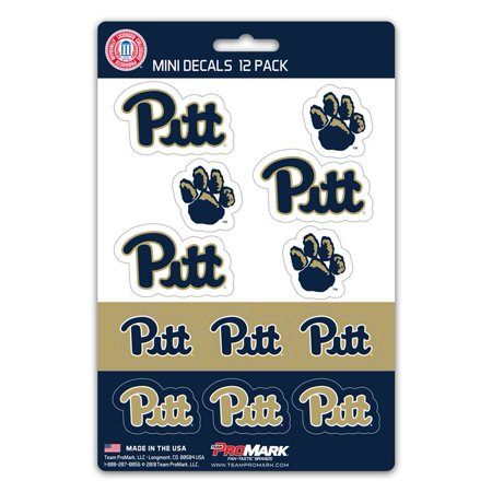 Pittsburgh Panthers Mini Decals - 12 - Panthers Decal