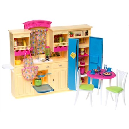 Barbie decor collection kitchen playset for Kitchen decor collections