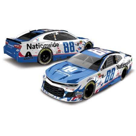 Alex Bowman Action Racing #88 2018 Monster Energy NASCAR Cup Series 1:64 Nationwide Patriotic Die-Cast Chevrolet Camaro ZL1 - No Size