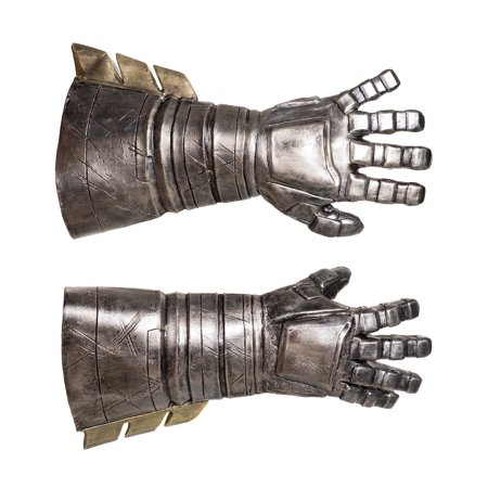 Dawn of Justice Batman Armored Gauntlets Adult Halloween Accessory](Batman Mens Costume)