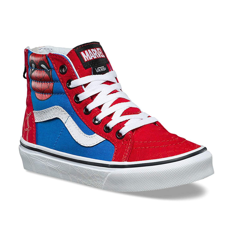 Vans SK8 Hi Zip Marvel Spiderman Skate