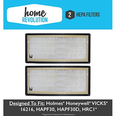 2 holmes hepa air purifier filter home revolution brand; compare to ...
