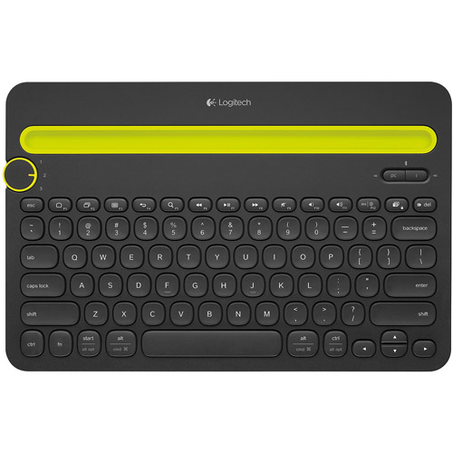 Logitech Bluetooth Multi-Device Keyboard, Black
