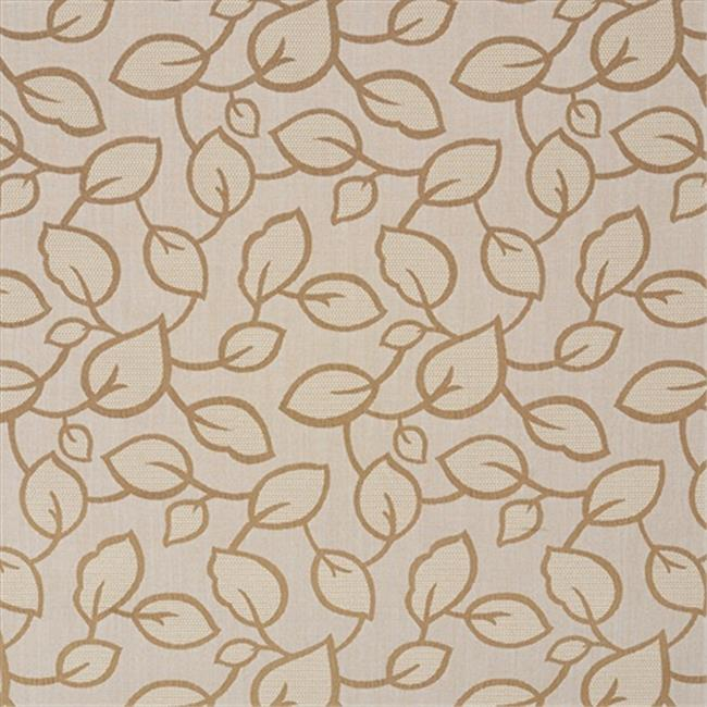 Designer Fabrics U0000E 54 in. Wide Beige And Brown Large Scale Leaves Upholstery Fabric