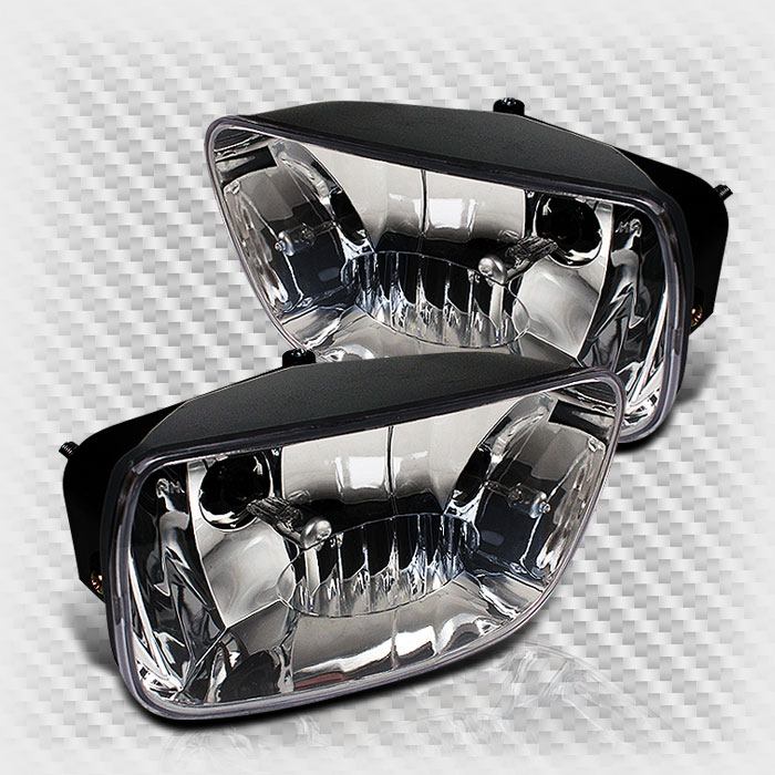 2002-2009 Chevy Trail Blazer Clear Bumper Replacement Fog Lights Lamp Pair Set 2003 2004 2005 2006 2007 2008 Pair L+R