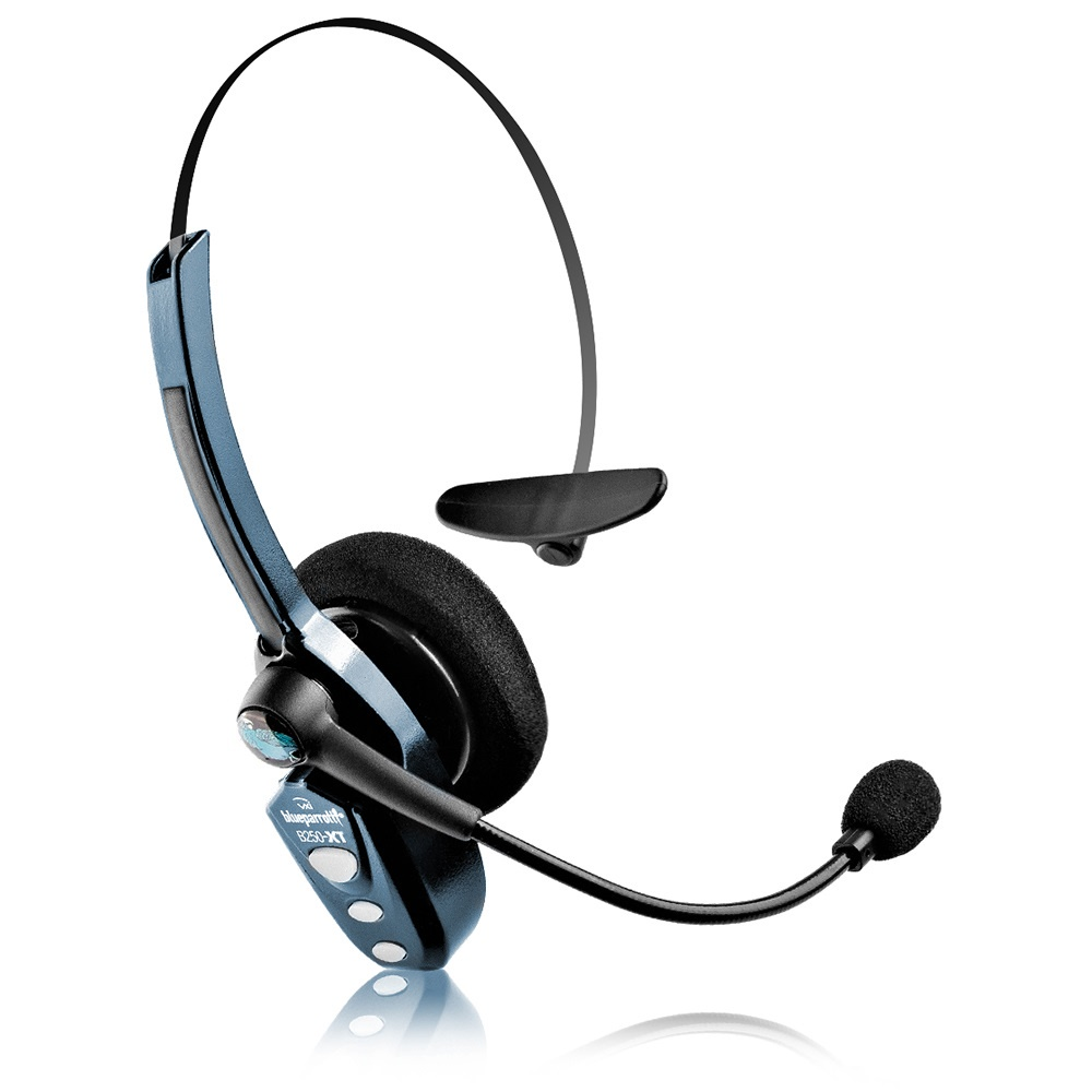 VXI BlueParrott B250-XT Roadwarrior Bluetooth Headset  - Gray (Certified Refurbished)