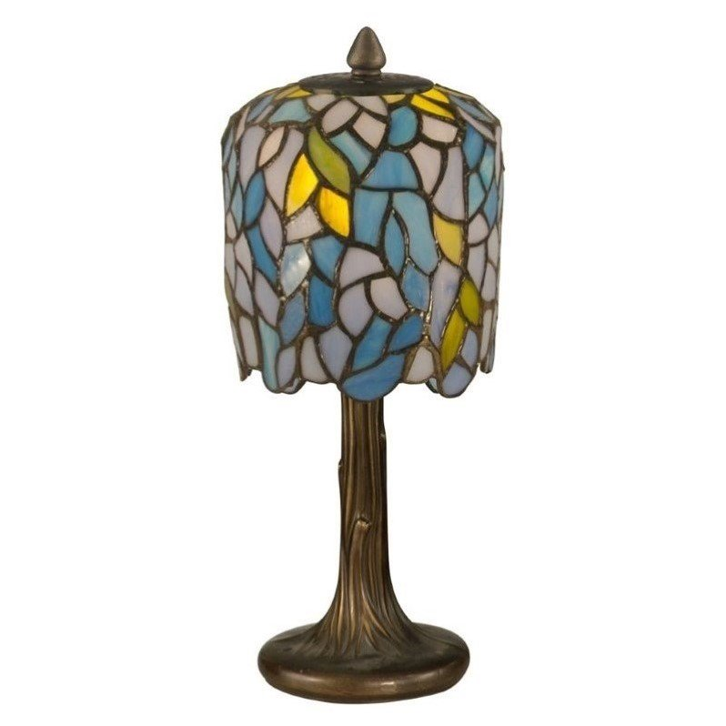 Dale Tiffany Wisteria Tiffany Mini Lamp