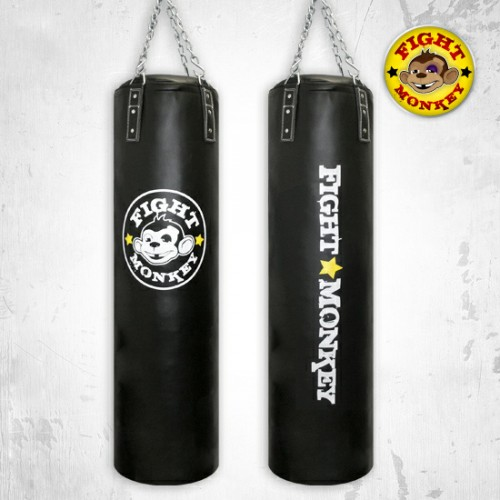 Fight Monkey Commercial PVC Heavy Bag-Weight:75 lbs