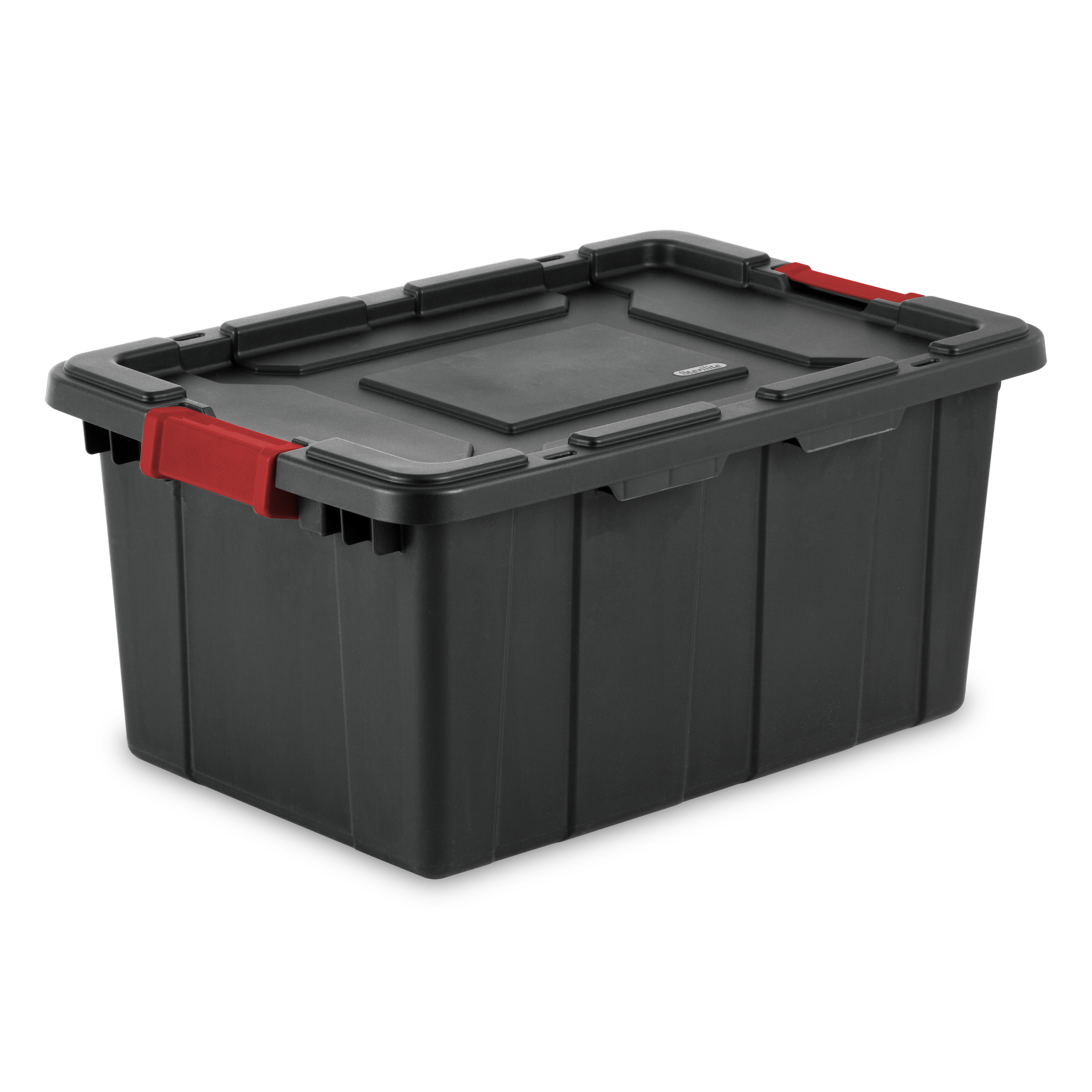 57 L Industrial Tote, Black (Available In A Case