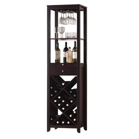 ACME Casey Wine Cabinet, Wenge