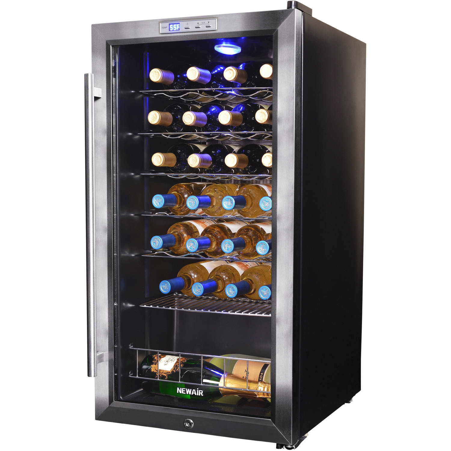 Midea 45 bottle wine cooler stainless steel Wine cooler brands