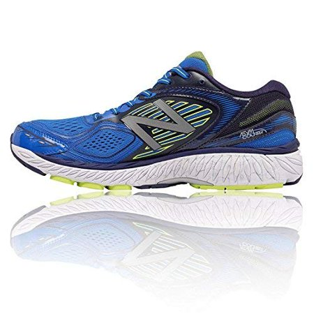 New Balance Men's M860BY7 Running Shoes, BlueYellow, 9 2E US
