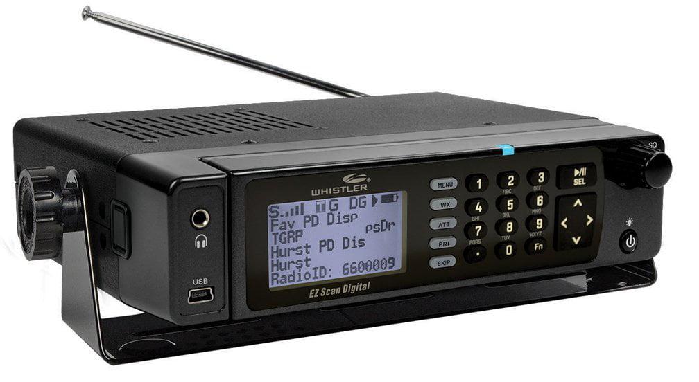 Whistler WS1098 Digital Desktop Mobile Radio Scanner by Whistler