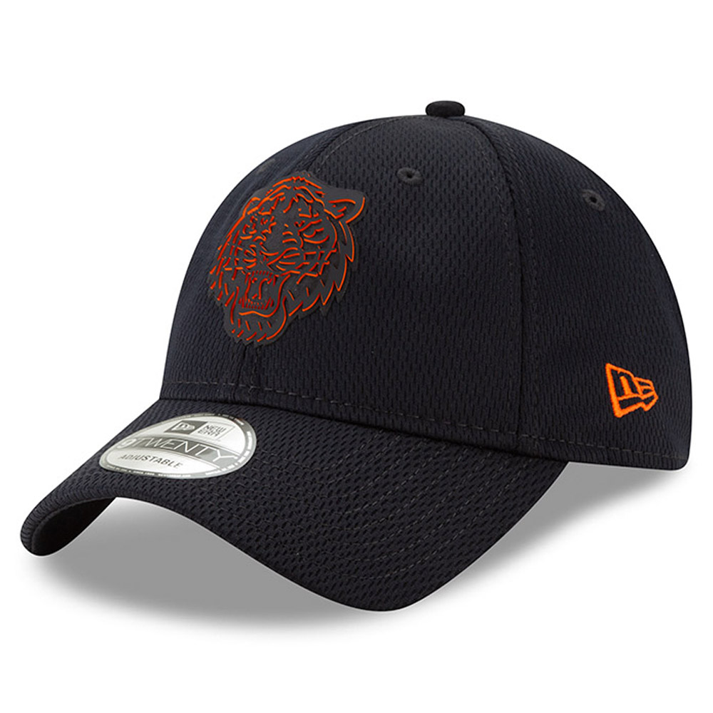 Detroit Tigers New Era 2019 Clubhouse Collection 9TWENTY Adjustable Hat - Black - OSFA