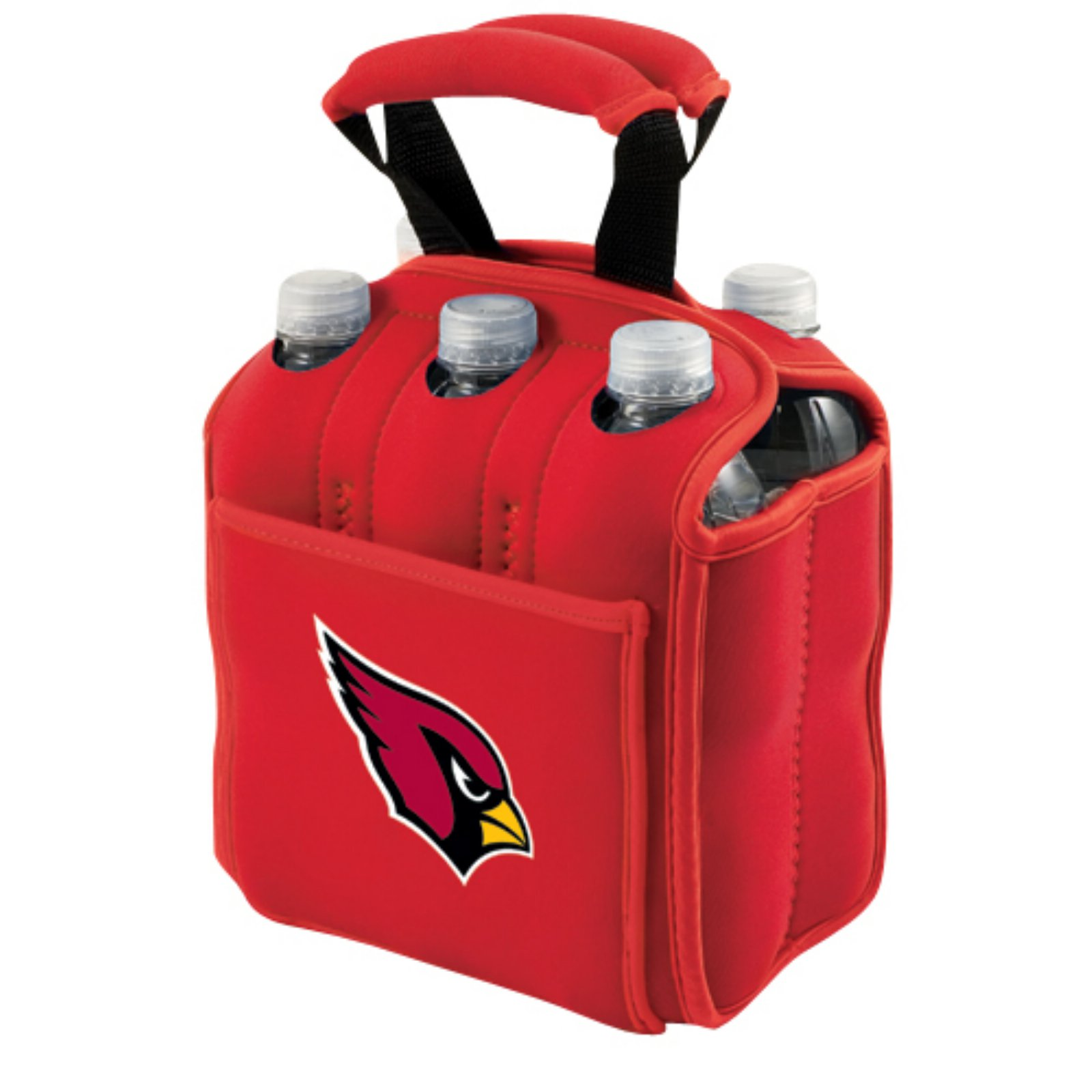 Picnic Time Six Pack, Red Arizona Cardinals Digital Print