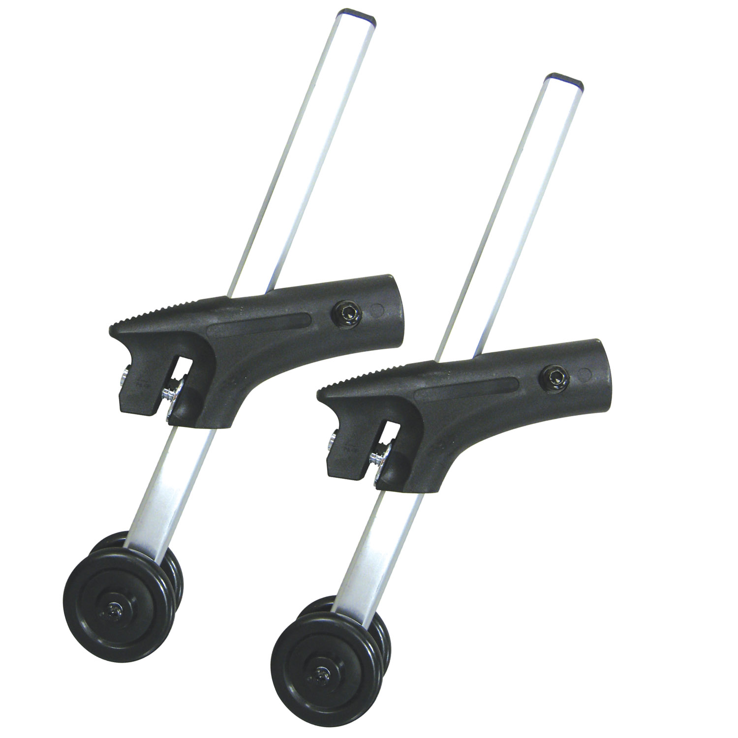 Drive Medical Anti Tippers with Wheels for Cougar Wheelchairs, 1 Pair