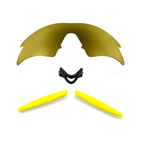 Lenses Kit Compatible with OAKLEY M Frame Sweep Polarized Gold & Yellow (Oakley M Frame Lens)