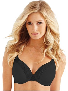 5f517f1c0907e Product Image Bali® One Smooth U® Ultra Light Lace with Lift Underwire -  Black - 36DDD