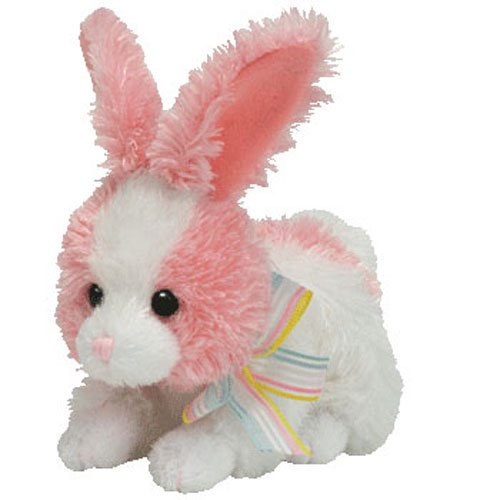TY Basket Beanie Baby - PIPSY the Pink   White Bunny (4.5 inch) - RARE! -  Walmart.com e1f059264c3