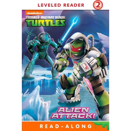 Alien Attack (Teenage Mutant Ninja Turtles) - eBook