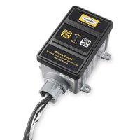 HUBBELL WIRING DEVICE-KELLEMS GFHW430 GFCI,Hard Wired,3 PH 120/208V,30A,Black