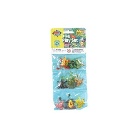 Mini Frog Triple Animal Collection by Wild Republic - 86443 - Mini Frogs