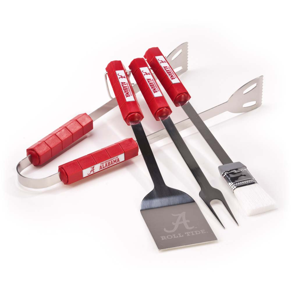 Bsi Products Inc Alabama Crimson Tide 4 Pc Bbq Set BBQ Tool Set