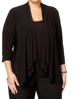 Women s Plus-Size Cardigans and Sweaters - Walmart.com - Walmart.com 0ebde3e91