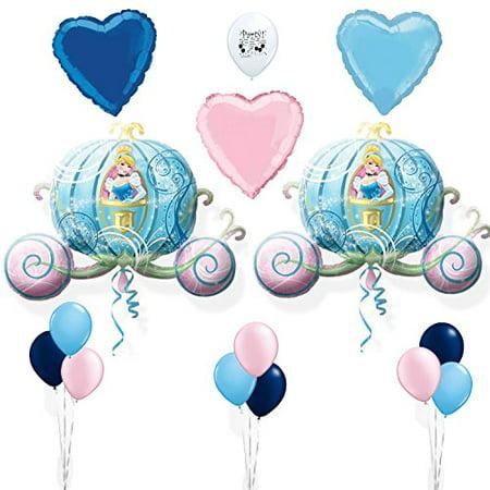 Cinderella Party Supplies Birthday Party Room Decoration Balloon Set