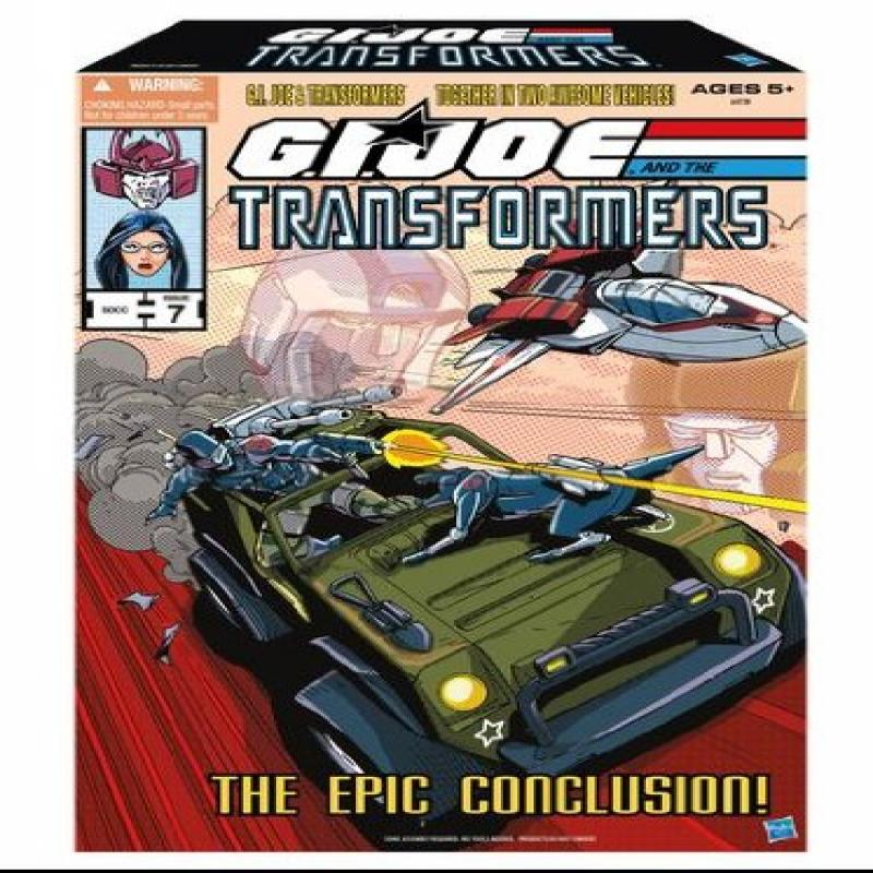 The Epic Conclusion GI Joe and Transformers SDCC 2013 ComicCon Exclusive Set by