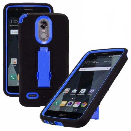 For LG Stylo 4 | LG Stylo 4 Plus | Q Stylus | Q Stylus Plus | Q Stylus  Alpha Case Symbiosis Armor Hybrid Silicone Phone