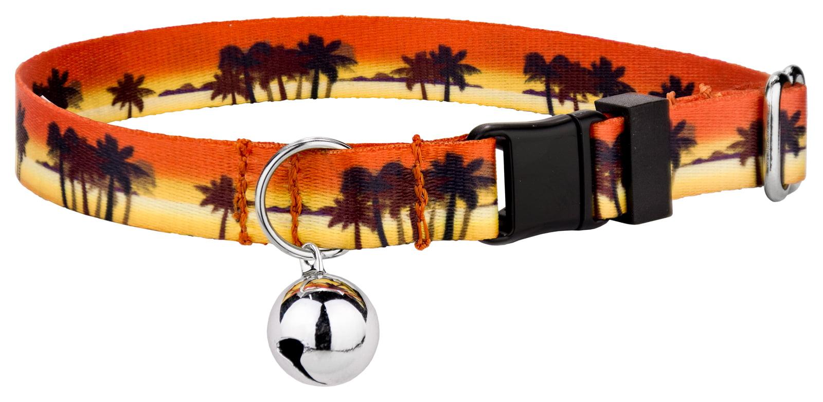 Country Brook Petz | Caribbean Sunset Cat Collar by Country Brook Design