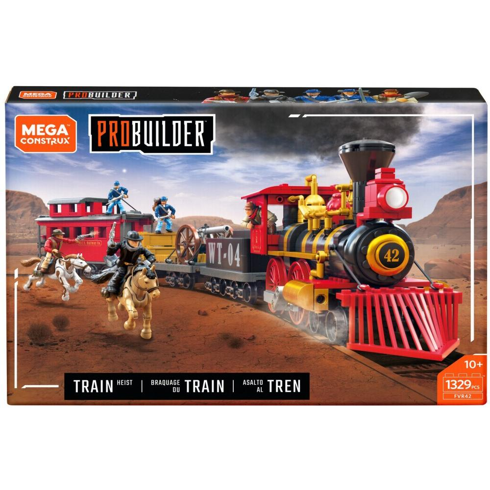 Mega Construx Probuilder Train Heist