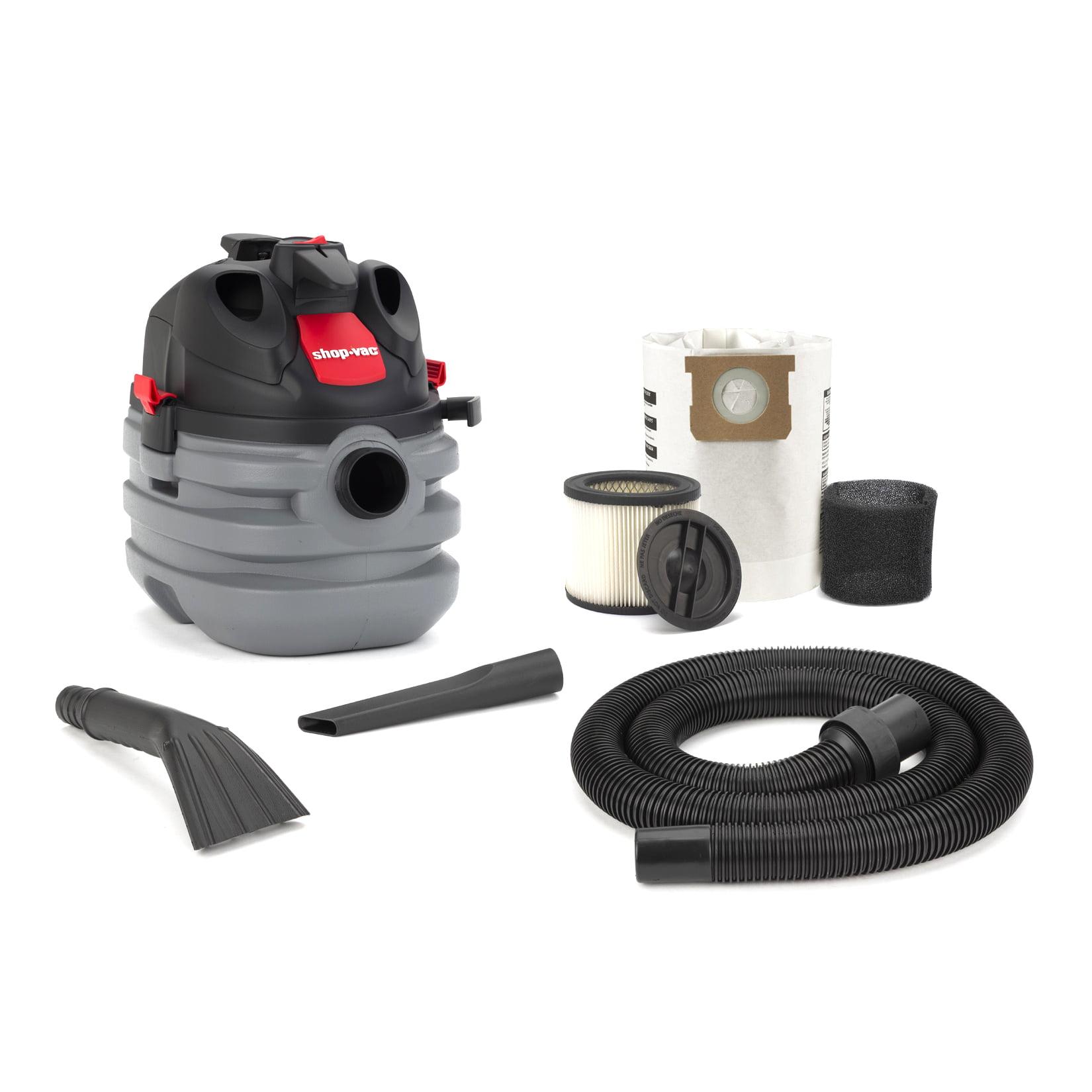 Shop Vac 587-02-00 5 Gallon 6.0 HP Wet & Dry Portable Vacuum