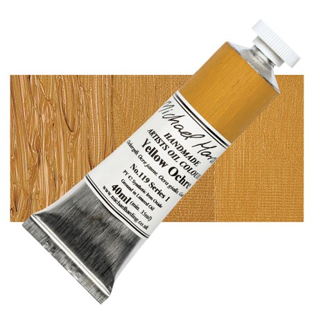 Michael Art Supply (Michael Harding Handmade Artists Oil Color 40ml - Yellow)