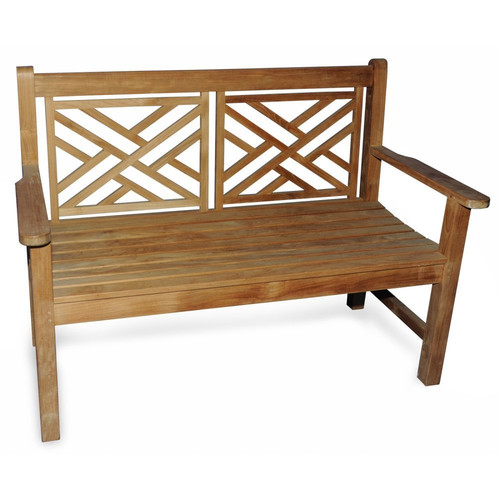 Regal Teak Teak Chippendale Garden Bench