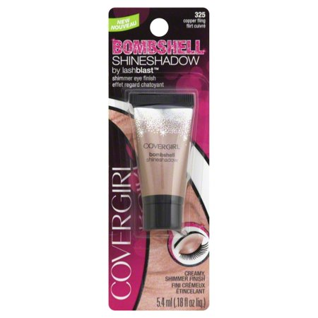 CoverGirl Bombshell Shine Shadow Eye Shadow, COPPER FLING 325