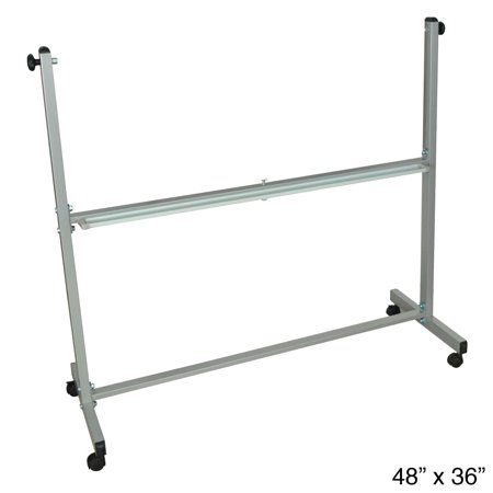 Offex Leg Frame Replacement for  Reversible Magnetic Whiteboard Whiteboard Replacement Vinyl