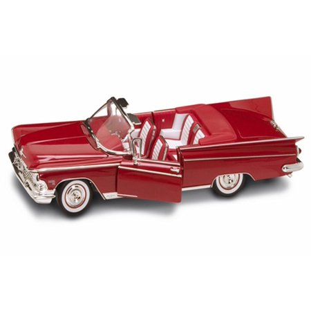 - 1959 Buick Electra 225 Convertible, Red - Road Signature 92598 - 1/18 Scale Diecast Model Toy Car