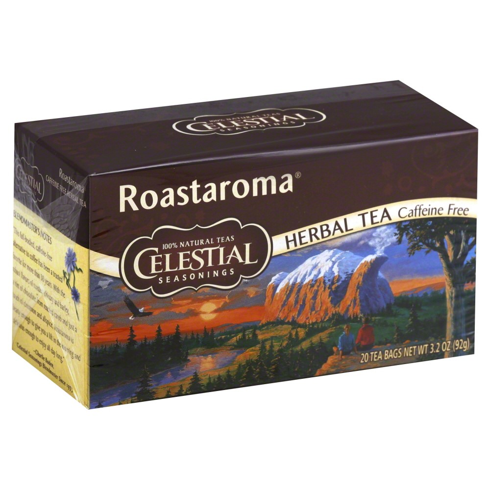Celestial Seasonings Herbal Tea, Roastaroma, 20 Ct