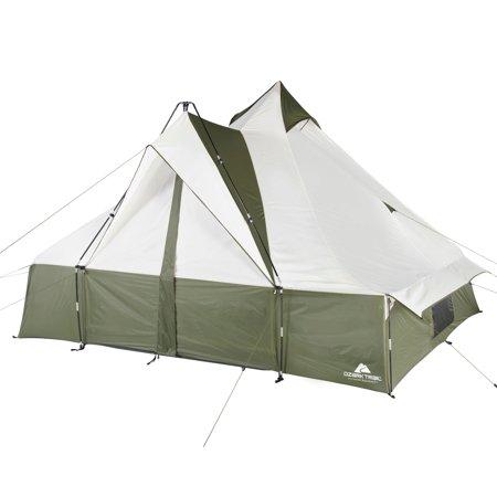 Moose Trail Lodge - Ozark Trail Hazel Creek 8 Person Lodge Tent