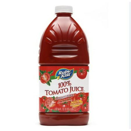 Ruby Kist Tomato Juice, 64 Fluid Ounce -- 8 per case.