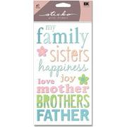 Sticko Family Stickers, 41 Piece