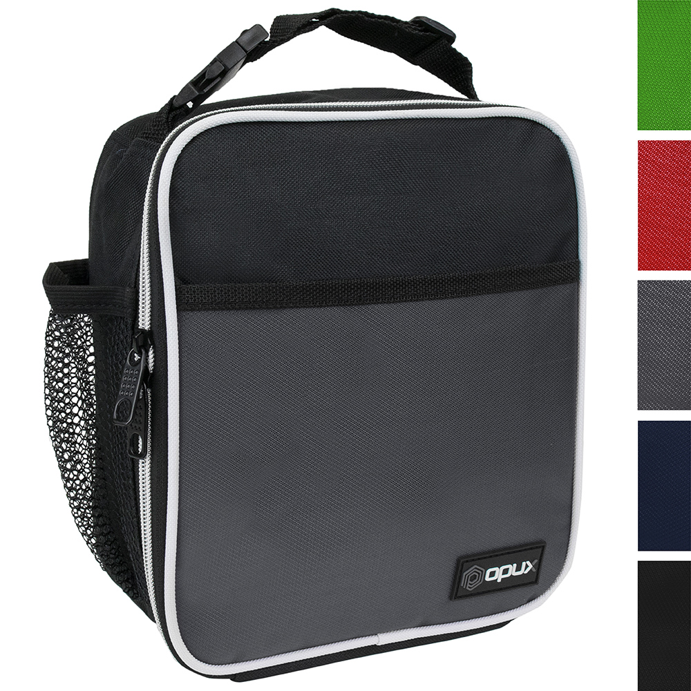 OPUX Premium Thermal Insulated Mini Lunch Bag | School Lunch Box For Teens, Adults | Soft Leakproof Liner | Compact Lunch Pail for Office Work