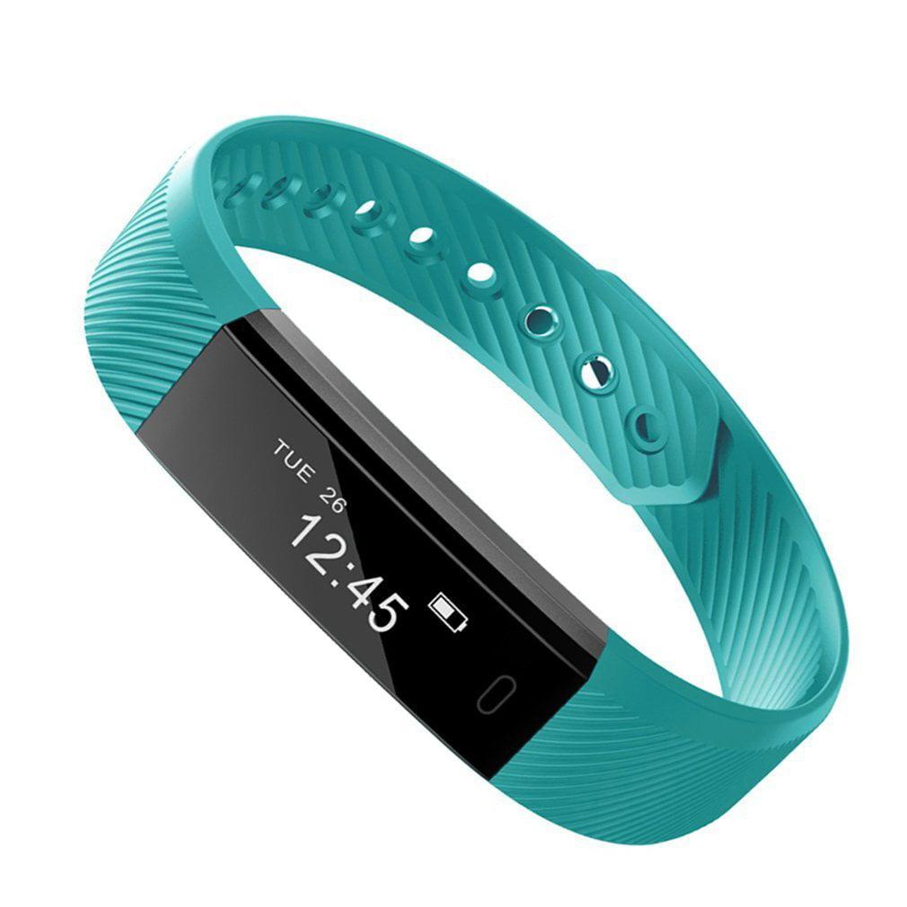 ID115 Smart Watch for Women Smart Bracelet Heart Rate Monitor Fitness Tracker Step Counter Bluetooth WritBand Alarm Clock Wristband