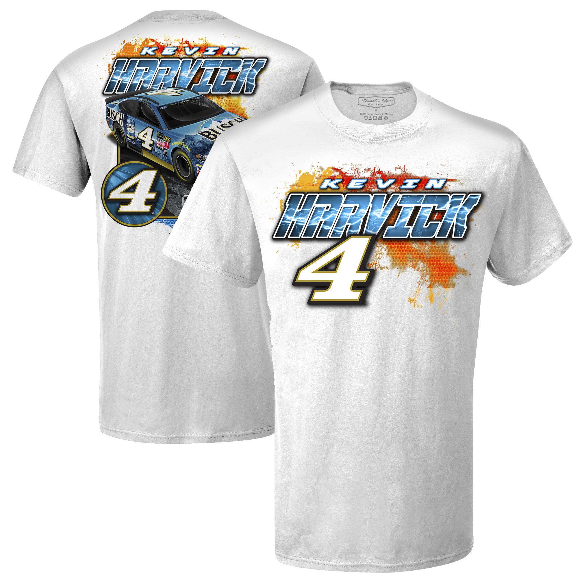 Kevin Harvick Carbon Fiber T-Shirt - White