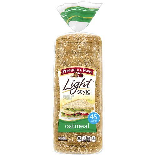 Pepperidge Farm Light Style Oatmeal Bread, 16 oz. Bag
