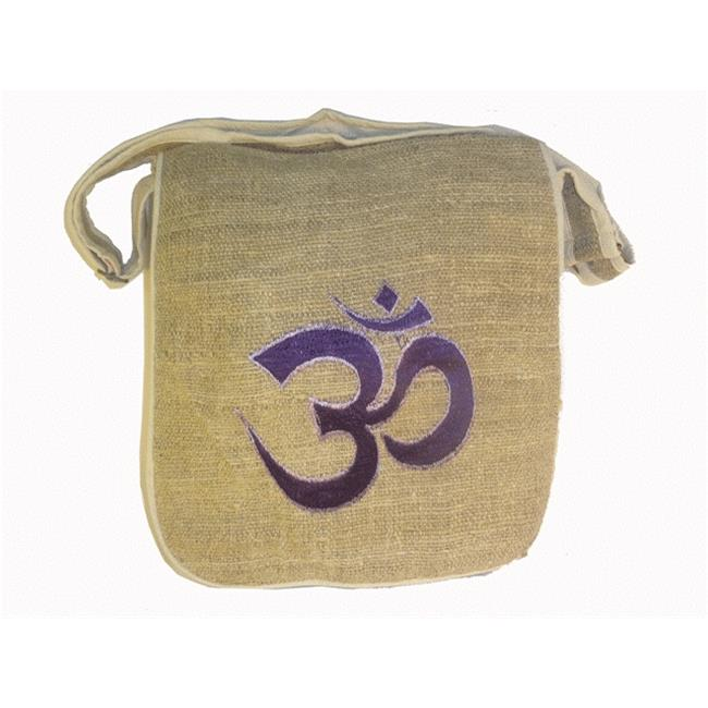 Visu Craft H660OM New Om Design Bohemian Hemp Shoulder Bag