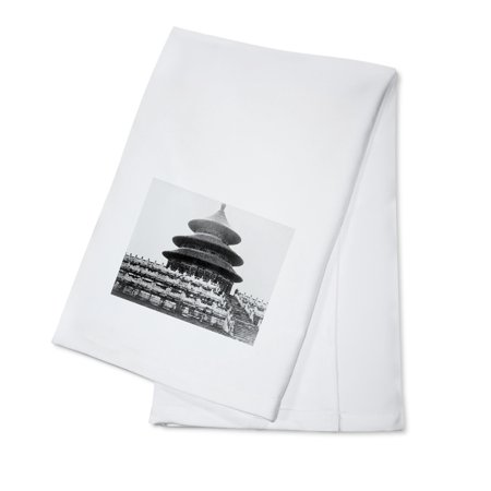 Temple of Heaven in Peking China Photograph (100% Cotton Kitchen Towel) ()